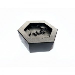 1Kg Iron Hexagonal Calibration Test Weight