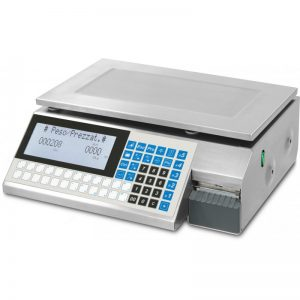 GP4LT Series Retail Scale with Labeller and Membrane Keyboard