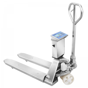 TPWLKi Stainless Steel Pallet Truck Scale